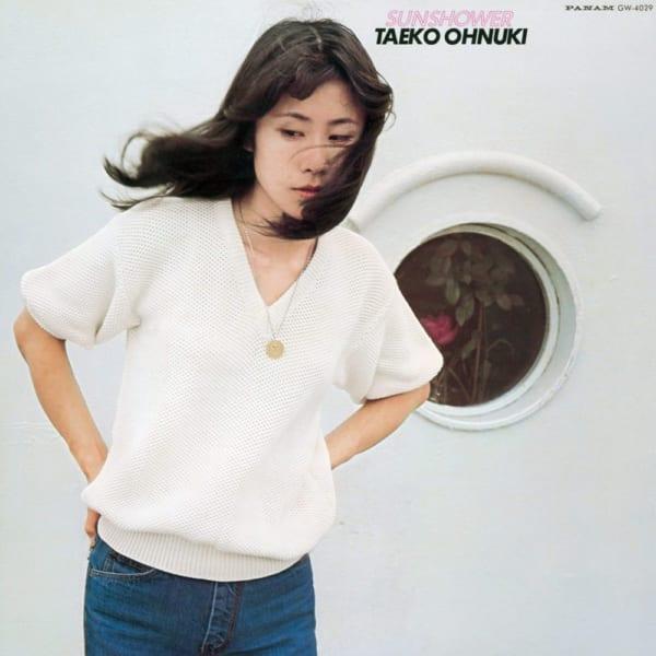 大貫妙子 『Sunshower』のジャケット写真