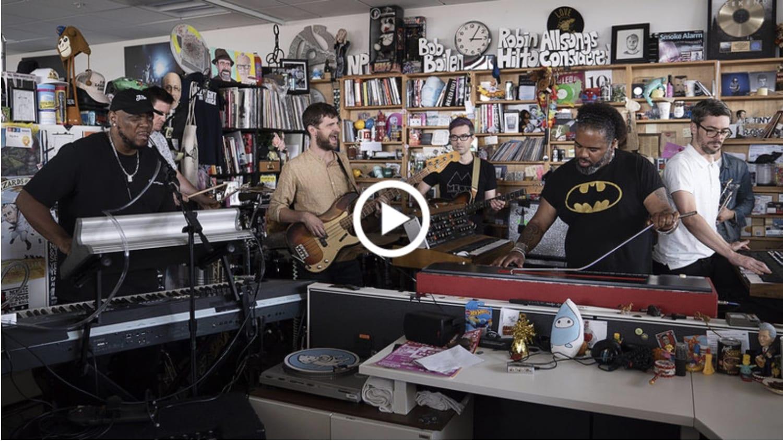 スナーキー・パピー『Tiny Desk Concert』