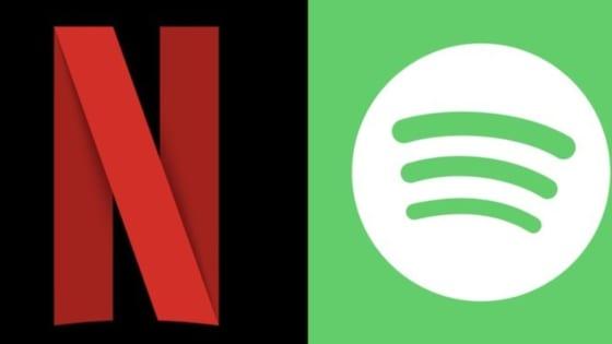 NetflixとSpotify