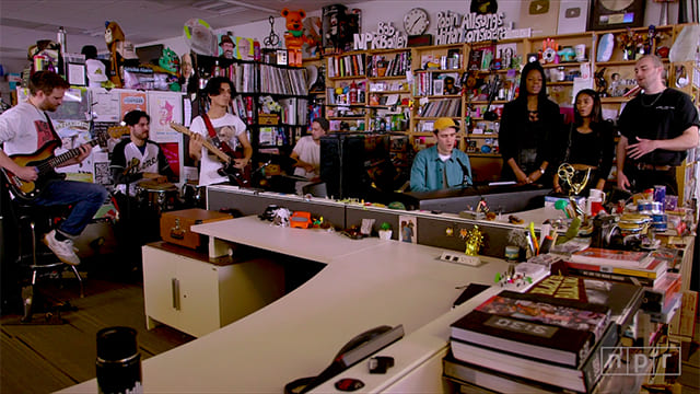 ジョーダン・ラカイのTiny Desk Concertの写真