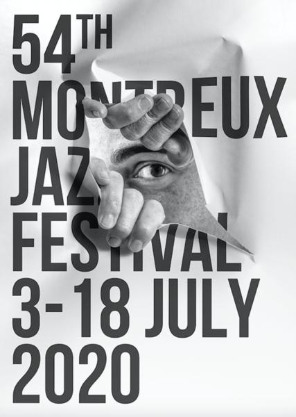 第54回モントルー・ジャズ・フェスティバルのポスター