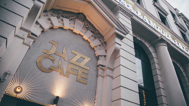 Jazz Cafe入口の画像
