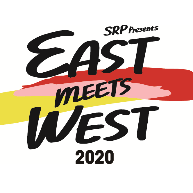 EAST MEETS WEST 2020のロゴ