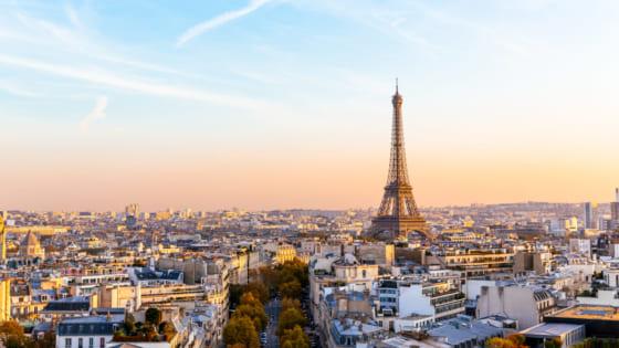 フランス・パリの街並み