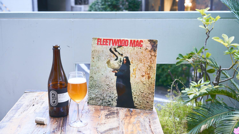 ハトスバーのテラスとクラフトビールとフリードウッドマックの写真