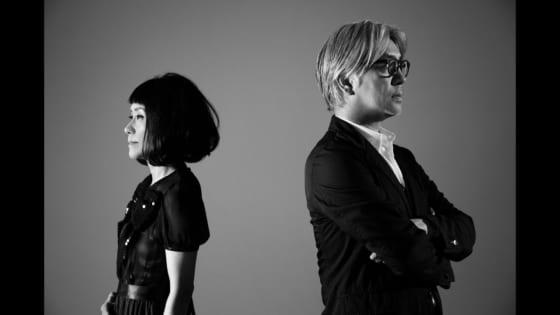 坂本龍一と大貫妙子の写真