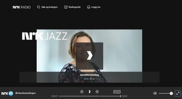 """NRK RADIO JAZZ。""""美しい世界観"""" がテーマのノルウェーのネット局"""