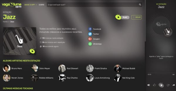 サンバ・ボサノヴァ・MPB。ブラジル音楽充実のネットラジオ