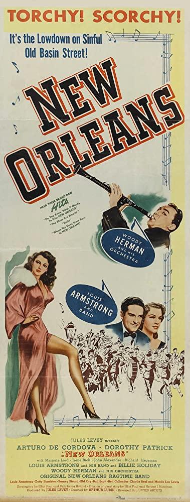 ヒップの誕生Vol.12_映画「NEW ORLEANS」のポスター