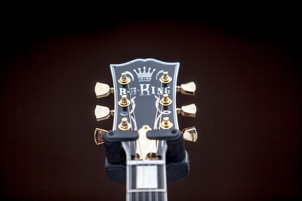B.B.キングのギター写真