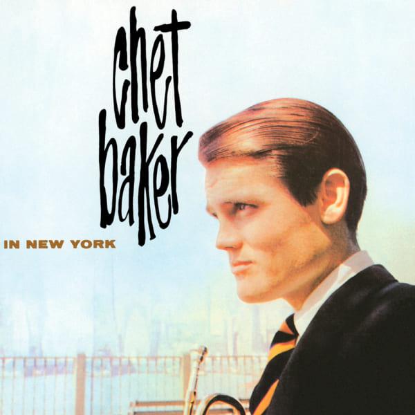 Chet Baker In New Yorkのジャケット写真