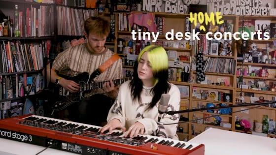 『Tiny Desk Concert』にビリー・アイリッシュ登場