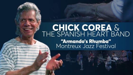チック・コリア「Armando's Rhumba」のライブ映像