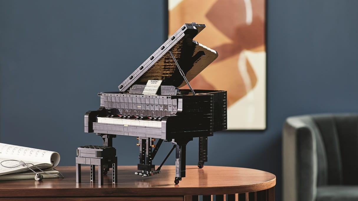 レゴのグランドピアノ