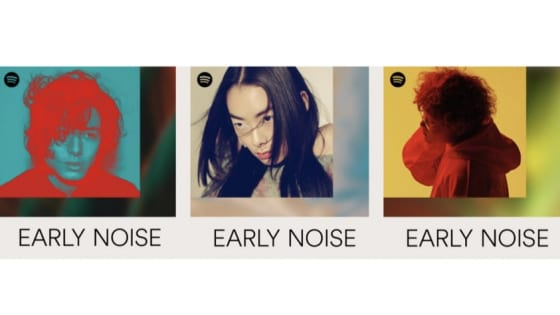 SpotifyのEarly Noise