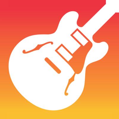 GarageBand iOS ロゴ