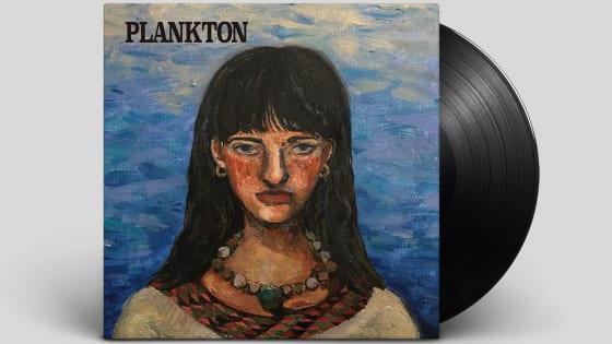 甲田まひる a.k.a. Mappy『PLANKTON』のLPレコード
