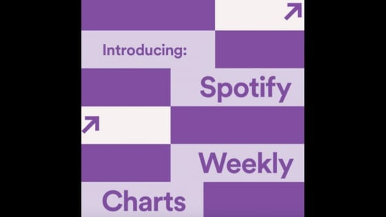 Spotify weekly chart