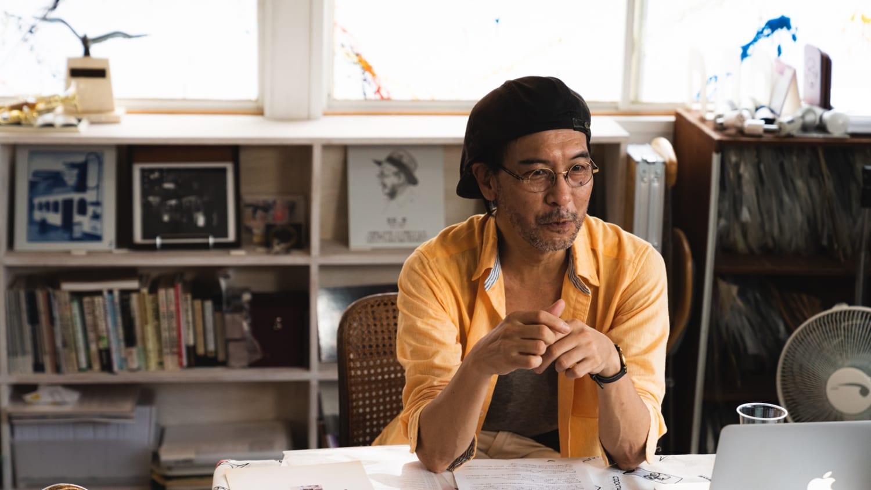 「ジャズ喫茶ちぐさ・吉田衛記念館」企画制作ディレクター、笠原彰二さんの写真