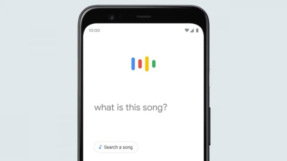 GoogleのHum to Searchのイメージ画