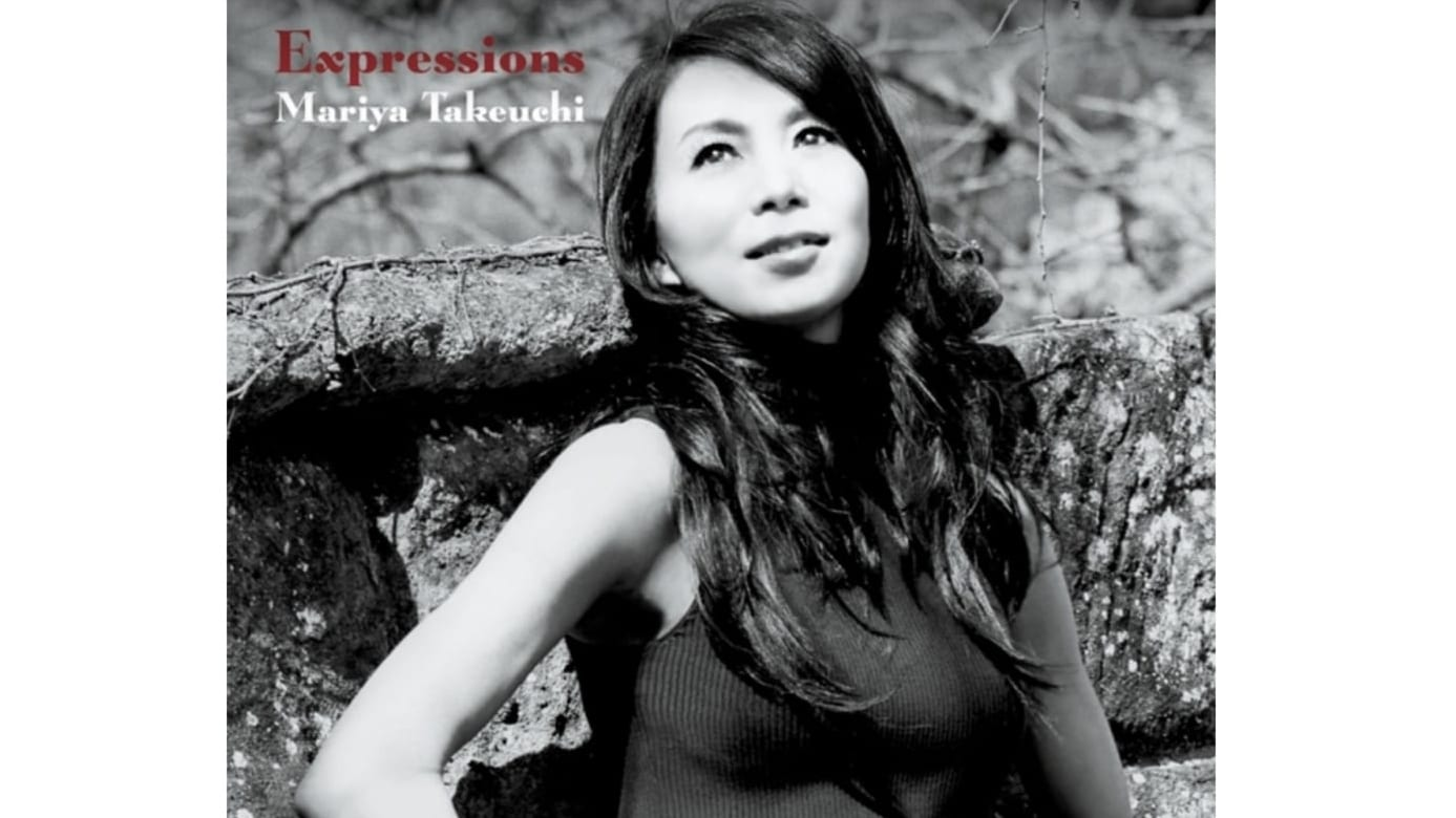 竹内まりや「Expressions」のジャケット写真