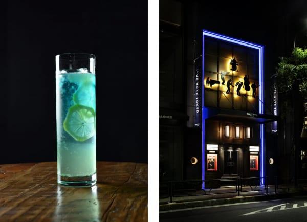 コラボカクテル「BLUE GIANT」の写真