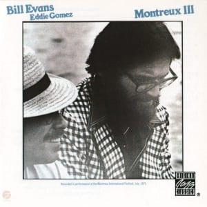 『モントルーⅢ』のジャケット写真、 ビル・エヴァンス